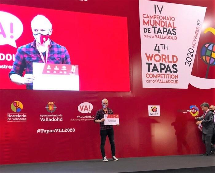 Accésit para Cye del Pirineo en el Nacional de Pinchos y Tapas de Valladolid.