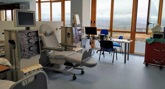Nueva Unidad de Hemodiálisis del Hospital de Jaca. (FOTO: Gobierno de Aragón)
