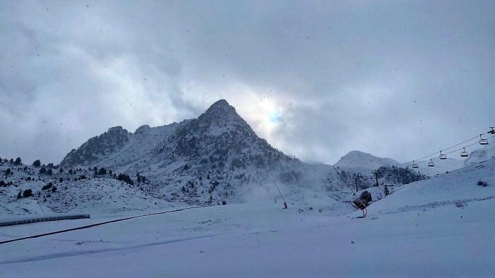 Formigal, en una imagen captada tras las últimas nevadas. (FOTO: Aramón Formigal-Panticosa)