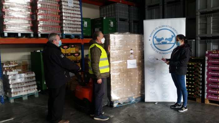 Donación de Orache en Huesca. (FOTO: Orache)