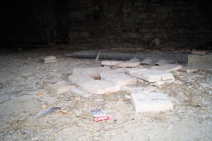 Estado actual de la ermita de La Esperanza de Villarreal. (FOTO: Rebeca Ruiz)