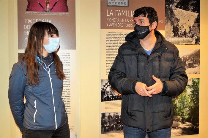 Veintemilla y Sánchez han explicado las novedades en la imagen y el funcionamiento de A Lurte. (FOTO: Rebeca Ruiz)