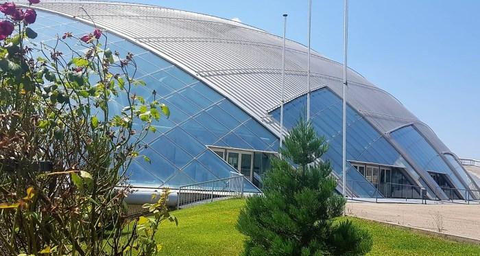 Pista de Hielo de Jaca,  sede de la tecnificación nacional de hockey U17 2020. (FOTO: Rebeca Ruiz)