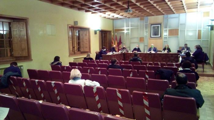 Pleno de presupuestos de 2020. (FOTO: Ayuntamiento de Jaca)