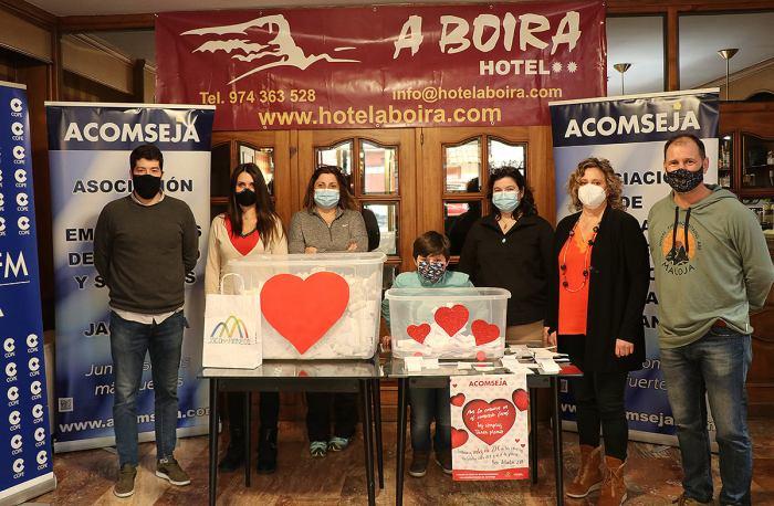 Ya se conocen los ganadores del sorteo de la campaña de San Valentín 2021 de Acomseja. (FOTO: Acomseja)