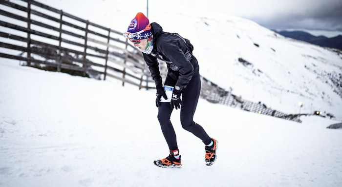 Virginia Pérez Mesonero, campeona de España de Snowrunning