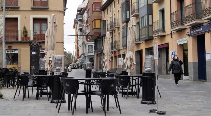 El PP de Jaca insta al Ayuntamiento jaqués a que pida la flexibilización de las restricciones COVID. (FOTO: Rebeca Ruiz)