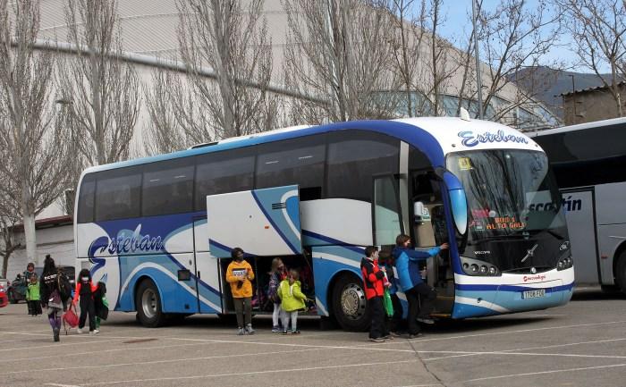 La Comarca Alto Gállego acerca a los escolares a la nieve y a actividades de invierno. (FOTO: Comarca Alto Gállego).