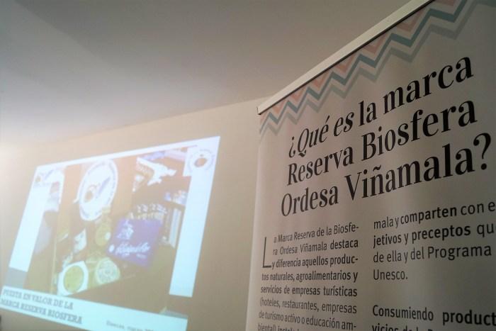 Presentación de la marca en el hotel Tierra de Biescas. (FOTO: Rebeca Ruiz)