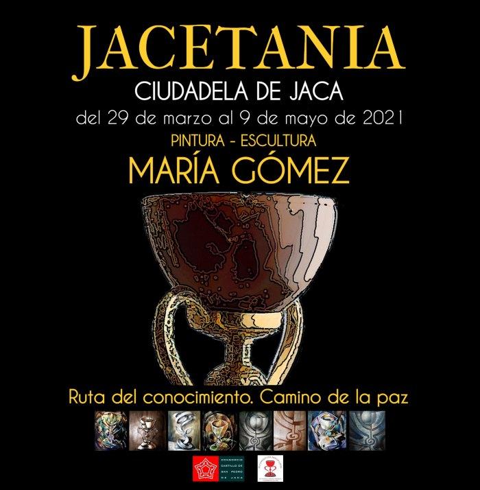 La Ciudadela de Jaca presenta 'Jacetania. Ruta del Conocimiento. Camino de la Paz', de María Gómez