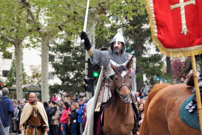 El Conde Aznar, entrando en Jaca, en una imagen de archivo de 2019. (FOTO: Rebeca Ruiz)