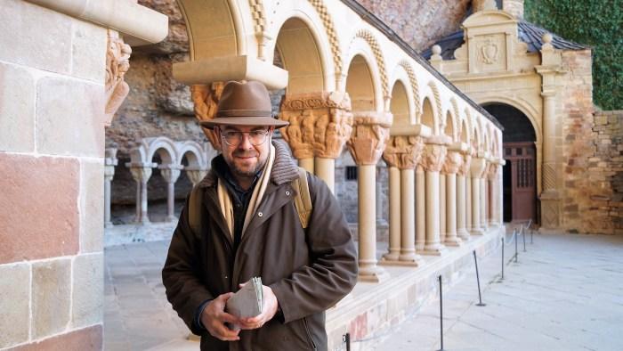 Aragón siempre está muy presente en todos los proyectos del escritor turolense. (FOTO: Rebeca Ruiz)