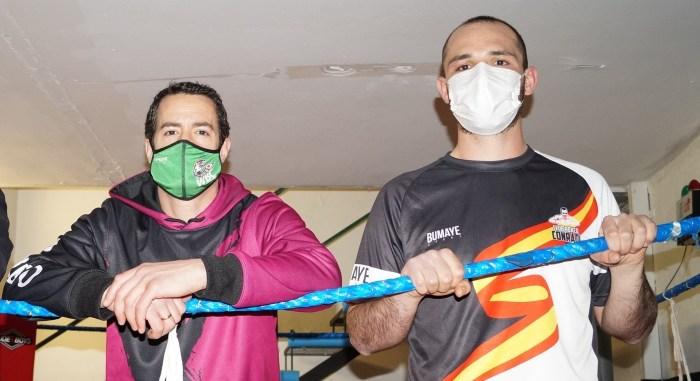 Álvaro Conradi y Julen Sarabia estarán en el Campeonato de España de Boxeo. (FOTO: Rebeca Ruiz)