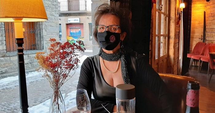 Lola Lasaosa, vocal de la Asociación contra el Cáncer de Mama Metastásico, que este lunes se dará a conocer en El Hormiguero de Pablo Motos.