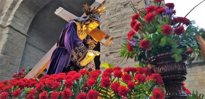 Jesús Nazareno, en una imagen de archivo. (FOTO: Rebeca Ruiz)