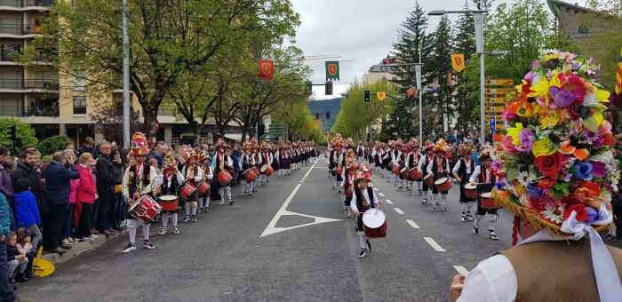 Desfile del Primer Viernes de Mayo de 2019. (FOTO: Rebeca Ruiz)