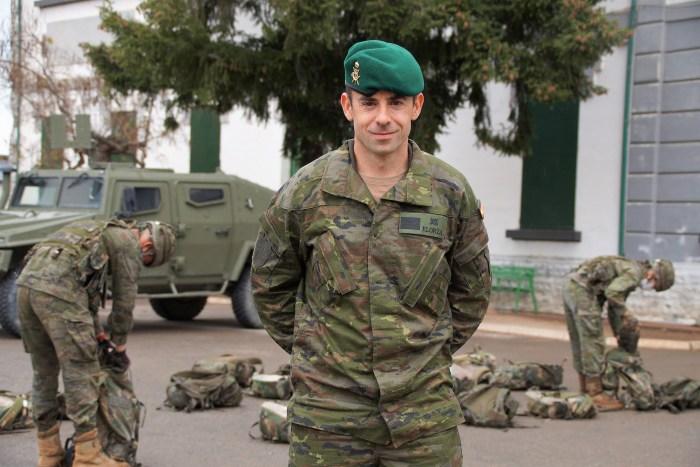 De Jaca al Líbano: cuestión de paz. Sargento Jorge Juan Elorza. (FOTO: Rebeca Ruiz)