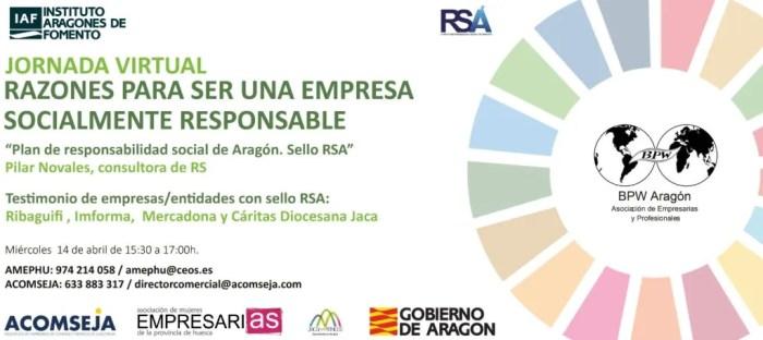 Acomseja acerca a los empresarios jacetanos el Plan de Responsabilidad Social de Aragón