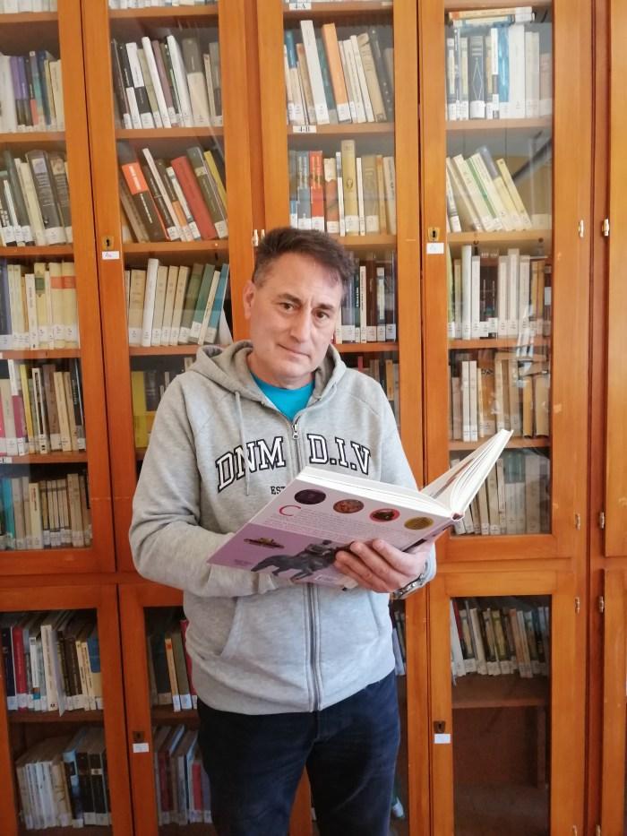 El legado judío llega a los institutos aragoneses de la mano del profesor de Jaca Álvaro López