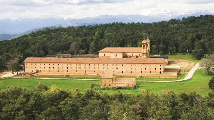 El Monasterio Nuevo de San Juan de la Peña recibe más de 2,2 millones del Plan Xacobeo 2021-22
