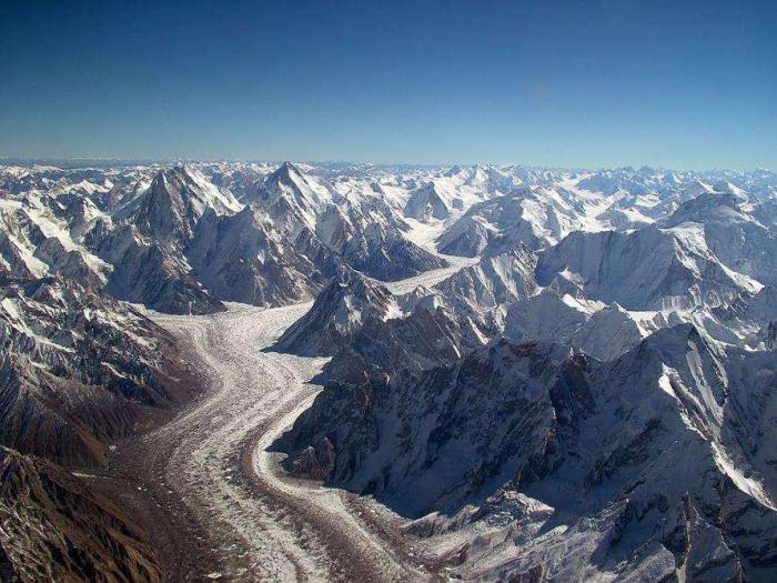 El Karakorum es una de las grandes cordilleras de Asia.