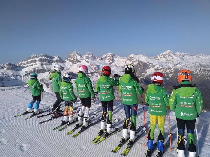 El Panticosa Esquí Club (PEC) cierra una difícil temporada con un balance muy positivo. (FOTO: PEC)