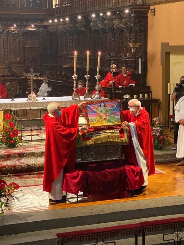 Jaca rinde honores a Santa Orosia. (FOTO: Ana López Artillo)