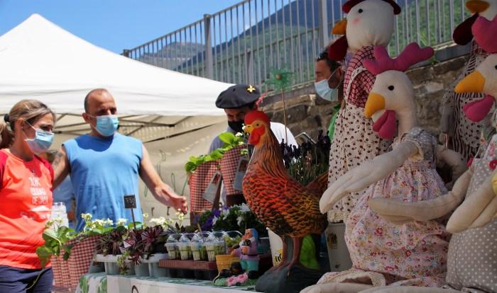 La rambla se incorpora al itinerario de la Feria de la Primavera. (FOTO: Rebeca Ruiz)