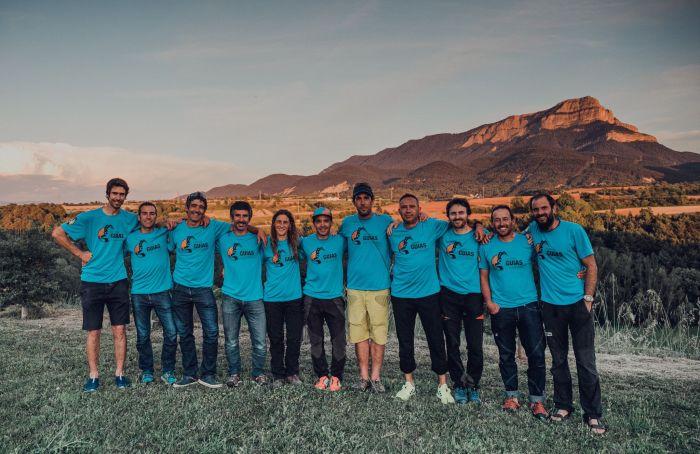 Once expertos se unen y crean en La Jacetania la Cooperativa de Guías Casa de la Montaña. (FOTO: Guías de la Casa de la Montaña)