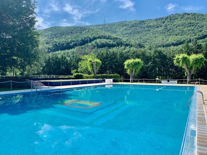 Sabiñánigo abre las piscinas del parque este fin de semana