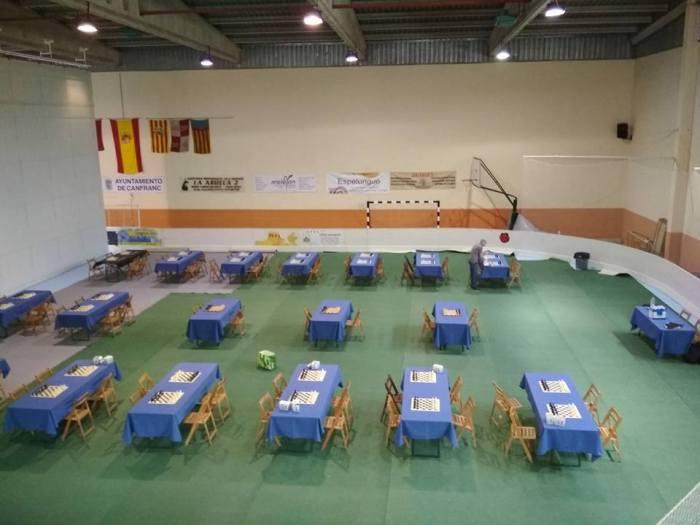Más de 145 participantes se dan cita en el Torneo de Ajedrez Villa de Canfranc, este fin de semana.