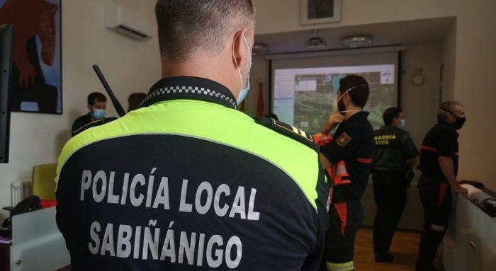 Sabiñánigo, escenario del primer simulacro de emergencia química realizado en Aragón. (FOTO: Gobierno de Aragón)