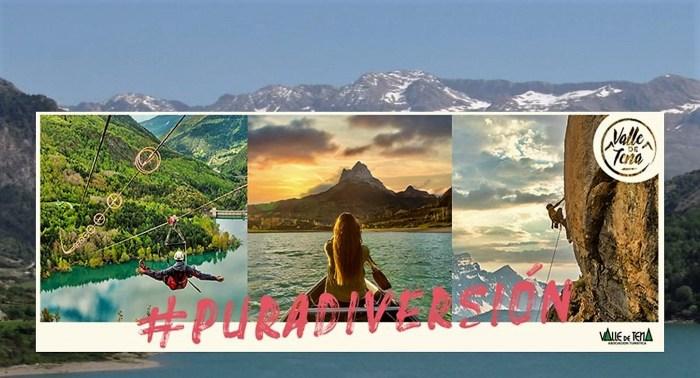 El Valle de Tena es #PURADIVERSIÓN, nueva campaña para atraer al turismo