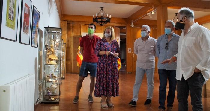Jaca recupera la historia de su Festival en el Castillo de San Pedro y en el Palacio de Congresos. Exposición en la Ciudadela de Jaca. (FOTO: Rebeca Ruiz)