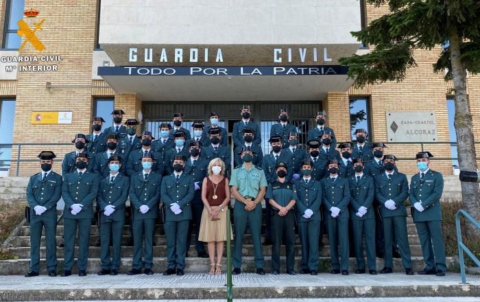 34 nuevos agentes de la Guardia Civil en Huesca; seis de ellos, en Jaca