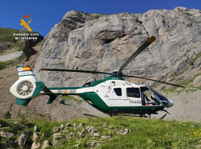 La Guardia Civil recupera el cuerpo sin vida de un corredor de montaña de 22 años en Candanchú