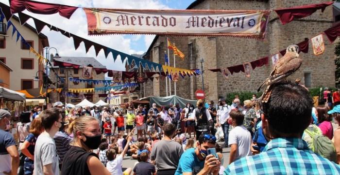 Las actividades de Panticosa cada vez reciben más público. Mercado Medieval. (FOTO: Rebeca Ruiz)