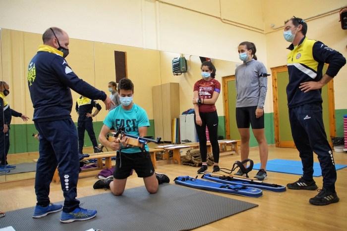 El CETDI Aragón Fondo/Biathlon retoma su actividad en las instalaciones de Jaca y Sabiñánigo