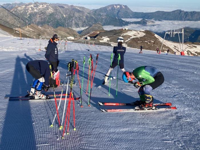 El CETDI Aragón Alpino y Fondo/Biathlon, a pleno rendimiento para afrontar la próxima temporada