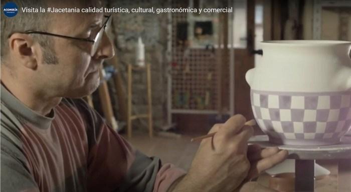 La olla jacetana y el río Aragón, protagonistas del nuevo vídeo promocional de Acomseja