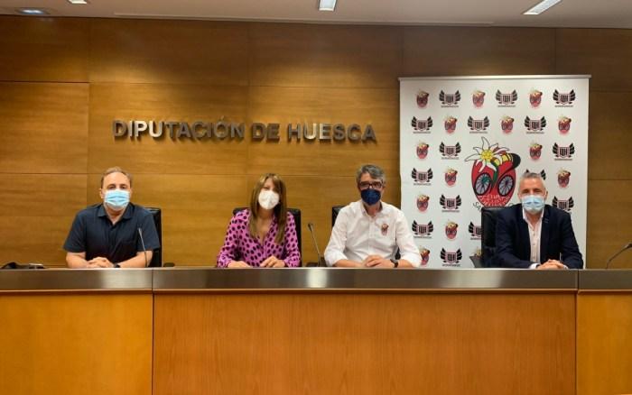 """Sabiñánigo se consolida en """"capital del ciclismo"""" con el Campeonato de España de BTT. (FOTO: Gobierno de Aragón)"""