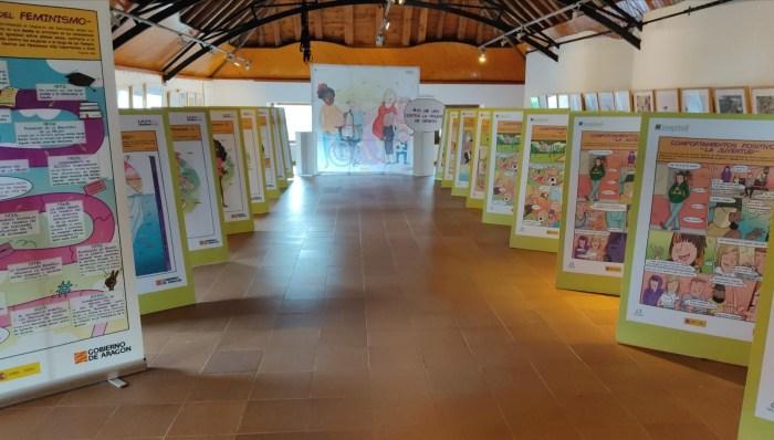 Viñetas por la igualdad en Hecho, Santa Cilia, Canfranc y Salvatierra de Esca