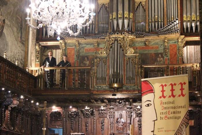'Clarines de batalla', música barroca en la Catedral románica de Jaca. (FOTO: FICS)