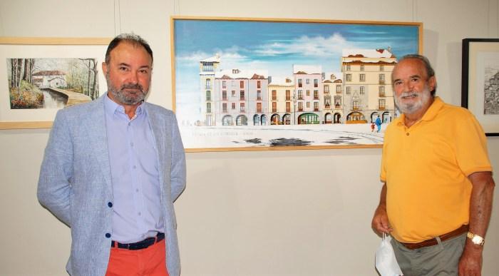 Regresa a la Ciudadela de Jaca el cautivador arte figurativo de Fermín Ochoa. (FOTO: Rebeca Ruiz)