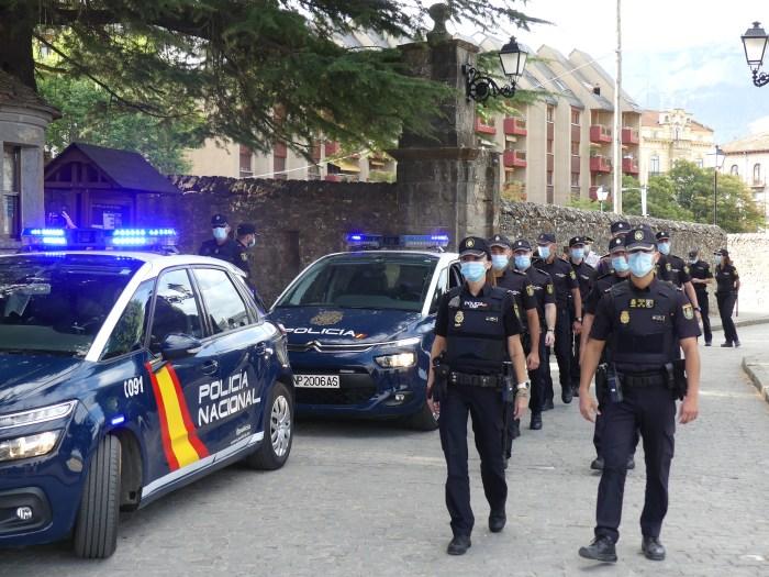 La Policía Nacional presenta en Aragón a 162 nuevos agentes: 14 en Jaca y 7 en Canfranc. (FOTO: Policía Nacional)