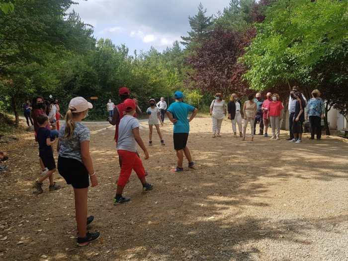 89 niños en riesgo de exclusión social participan en Villanúa en el Campamento Cheso. (FOTO: Gobierno de Aragón)