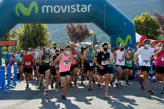 La Subida a la Fuente del Paco ha contado con 155 participantes. (FOTO: Comunicación Villanúa)