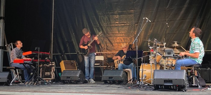 Jazz 4 Fun, en el Pic Vert Festival del Valle de Ossau