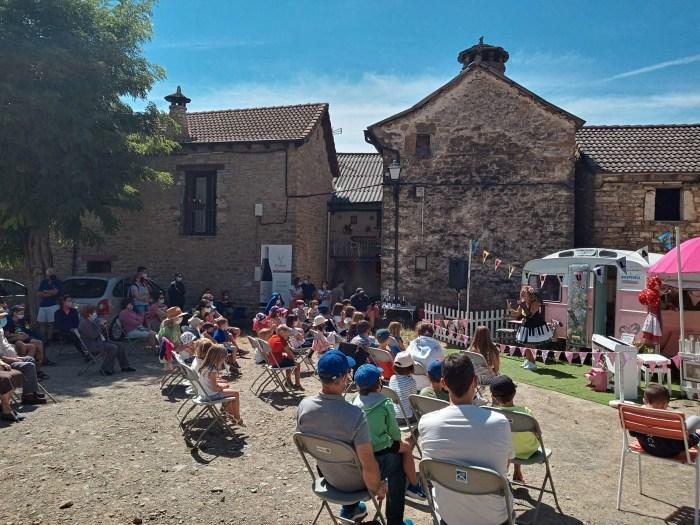 Positivo balance del programa cultural de verano del Alto Gállego, que ha llegado a 20 pueblos.