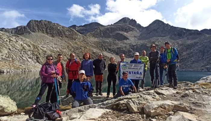 El Club Pirineísta Mayencos visita la Bal de Chistau. (FOTO: Chema Tapia)